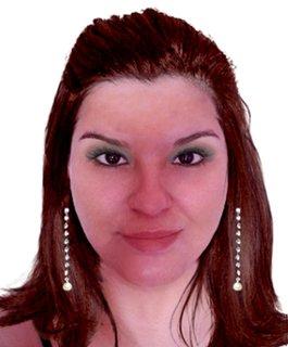 Sabe que eu gostei dessa cor de cabelo para mim!?!