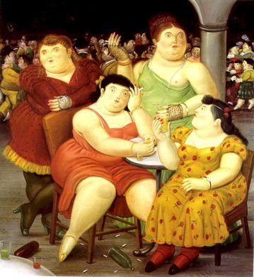 Pintura de Fernando Botero / Divulgação