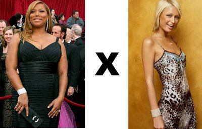 Queen Latifah X Paris Hilton
