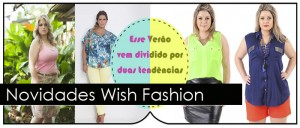 Novidades moda plus size na Wish Fashion