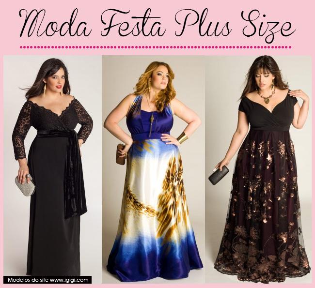 Lojas de vestido de festa plus size online