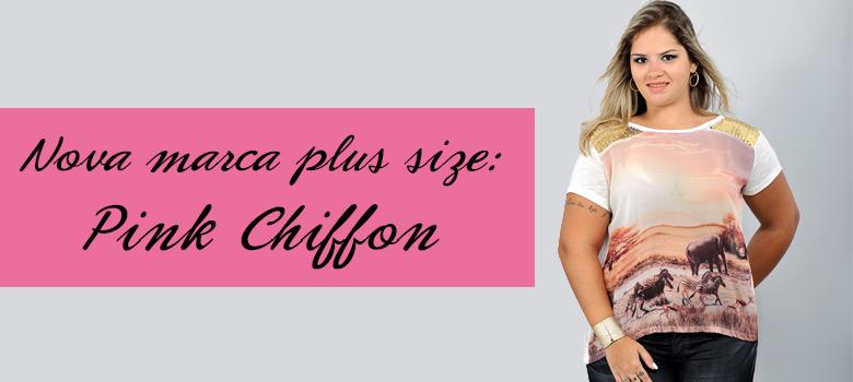 pink chiffon loja virtual