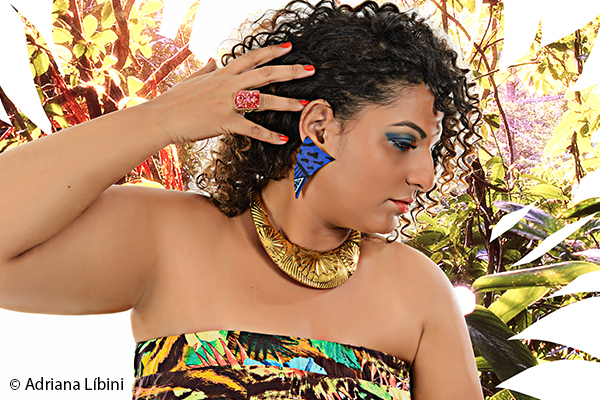 Tropical Paradise Editorial de Moda Plus Size - Verão 2015 - 10