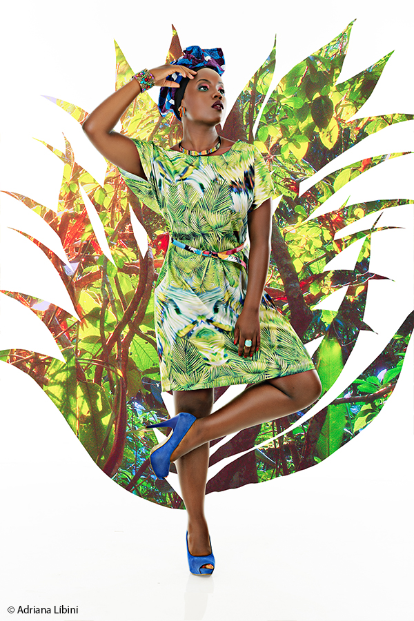 Tropical Paradise Editorial de Moda Plus Size - Verão 2015 - 2