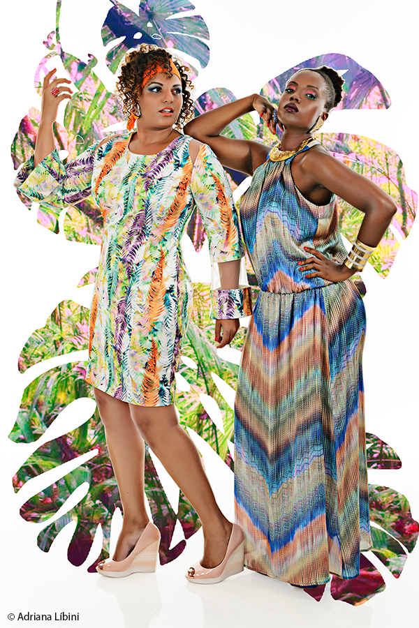 Tropical Paradise Editorial de Moda Plus Size - Verão 2015 - 6