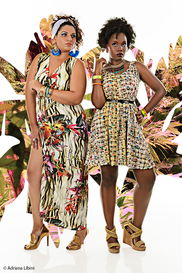 Tropical Paradise Editorial de Moda Plus Size - Verão 2015 - 7