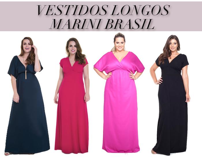VESTIDOS LONGOS MARINI BRASIL 2
