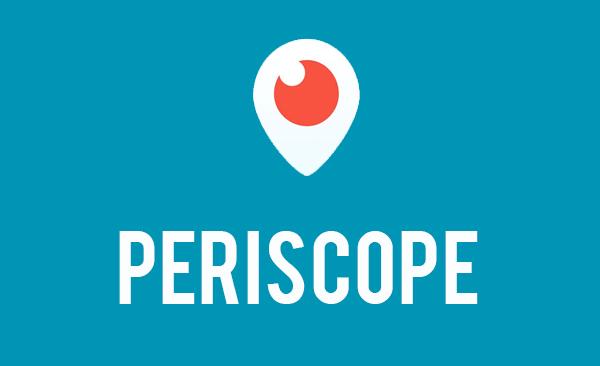 como usar o periscope