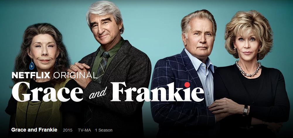 seriado grace and frankie 2 - grandes mulheres