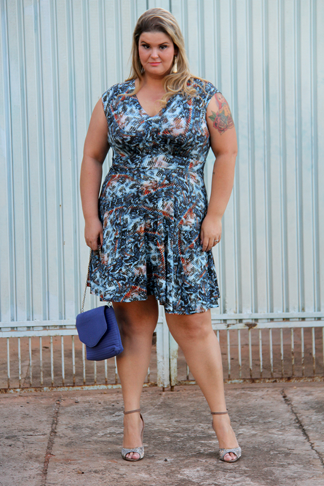 vestido plus size lunender 1 - grandes mulheres