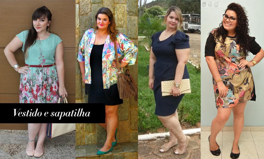 diferentes formas de usar vestido 2 - grandes mulheres