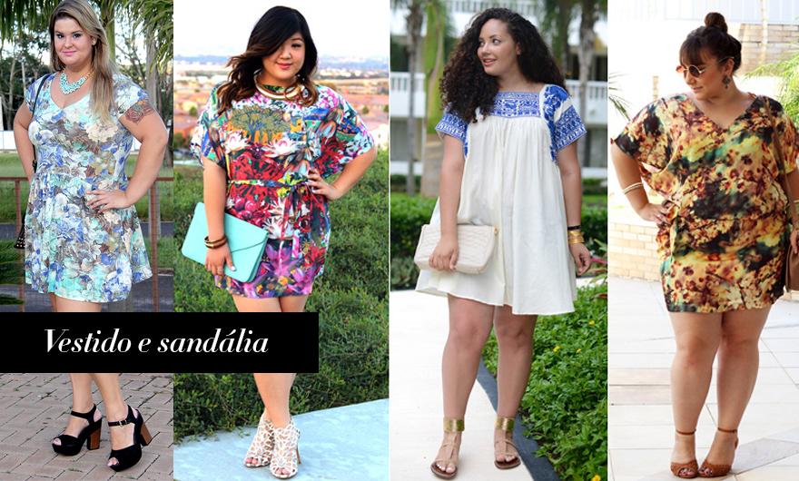 diferentes formas de usar vestido 3 - grandes mulheres
