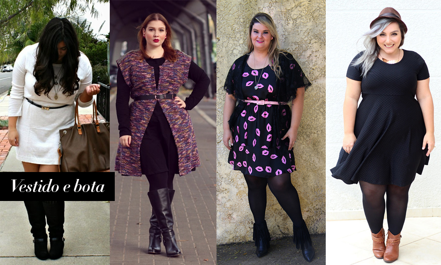 diferentes formas de usar vestido 4 - grandes mulheres