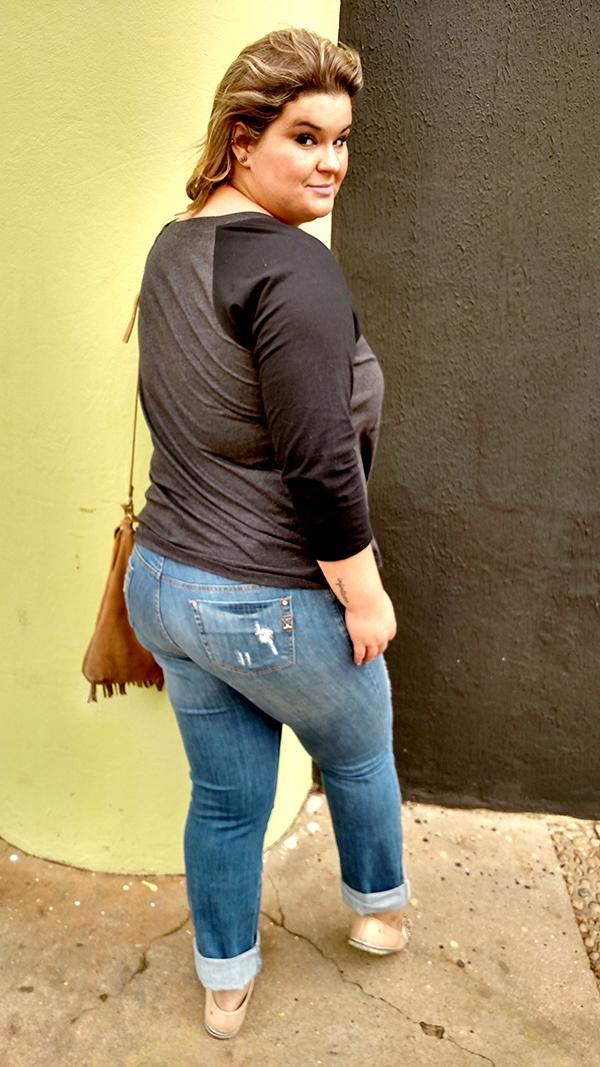 calça jeans destroyed plus size 2 - grandes mulheres