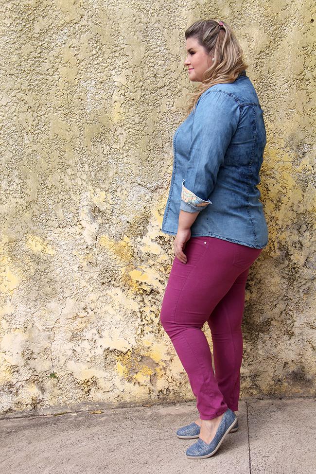 look lunender 6 - camisa jeans - grandes mulheres