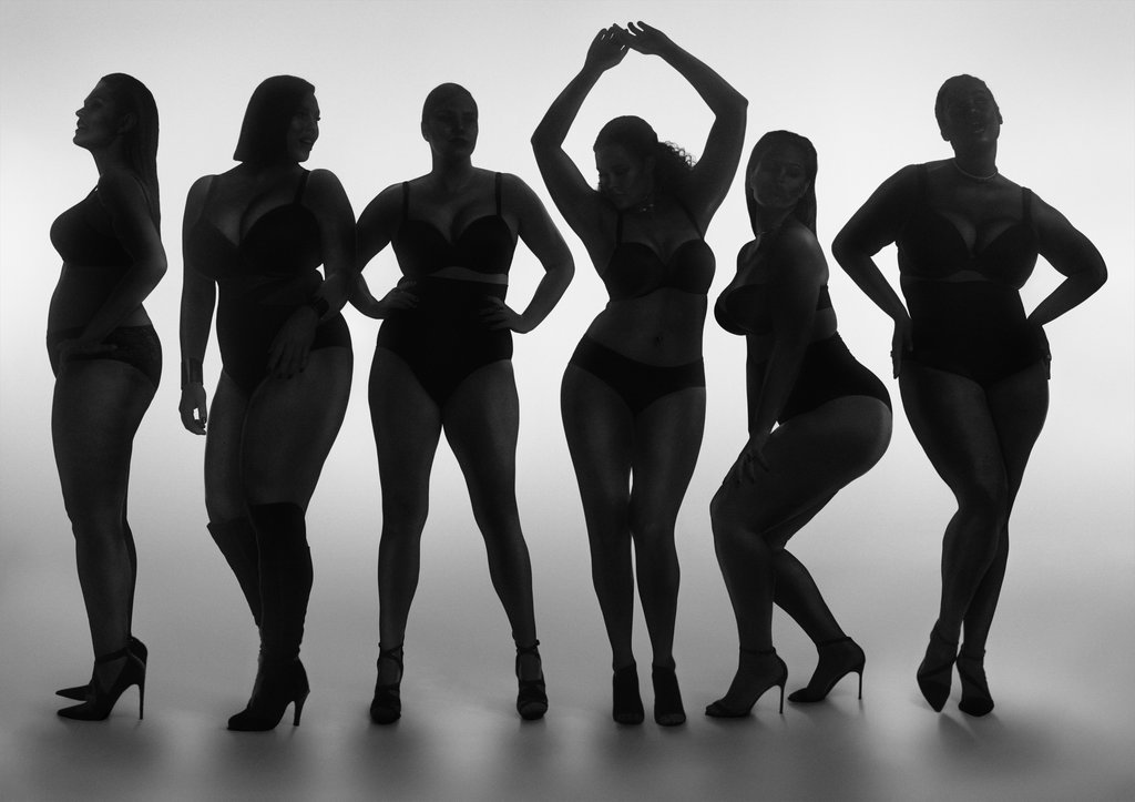 plus is equal - lane bryant - grandes mulheres