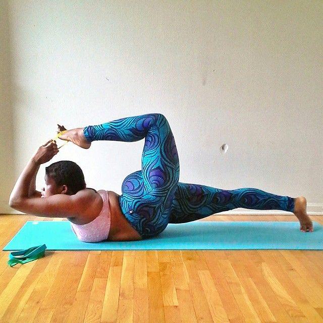 plus size yoga 2