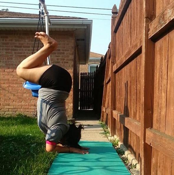 plus size yoga 3