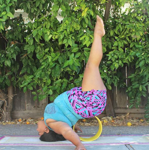 plus size yoga 6