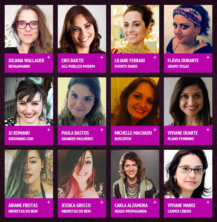 mulheres digitais - grandes mulheres