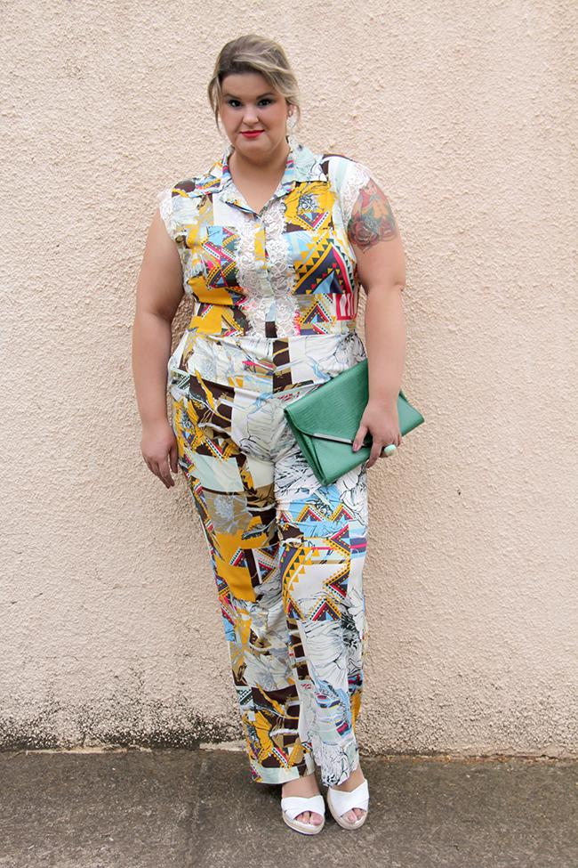 macacão plus size 16 - julia plus - grandes mulheres