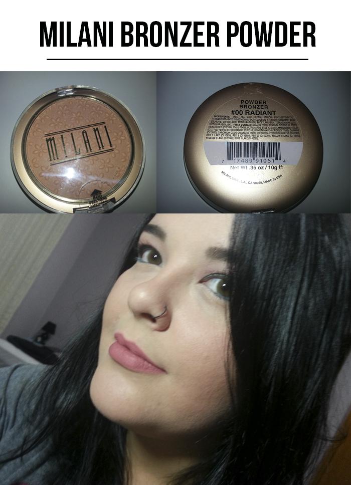 milani bronzer powder