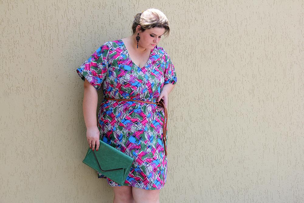 vestido colorido plus size 2 - julia plus