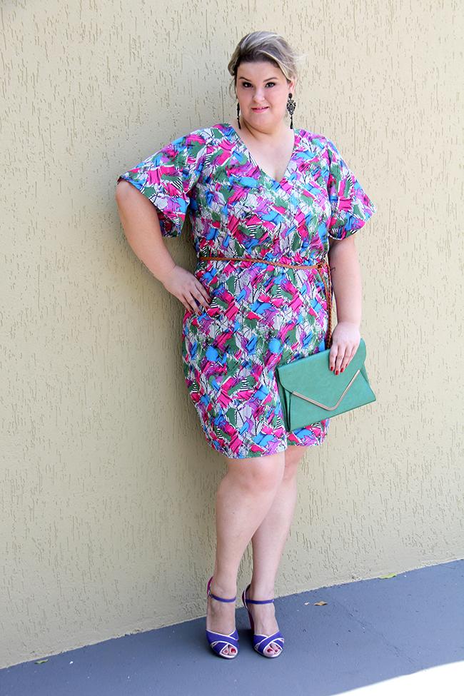vestido colorido plus size 4 - julia plus