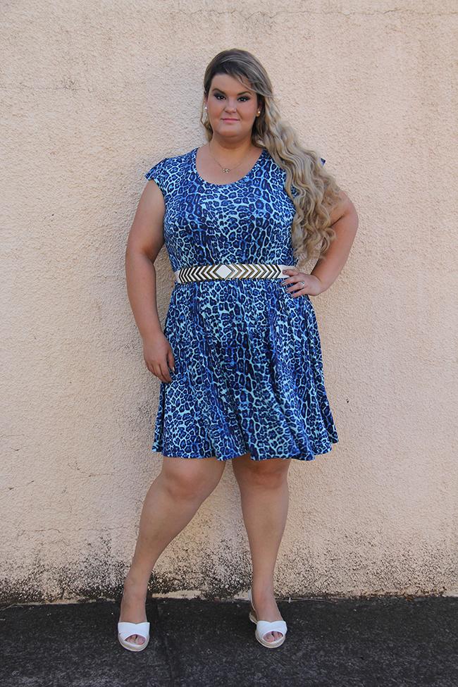 vestido oncinha 5 - moda plus size - grandes mulheres