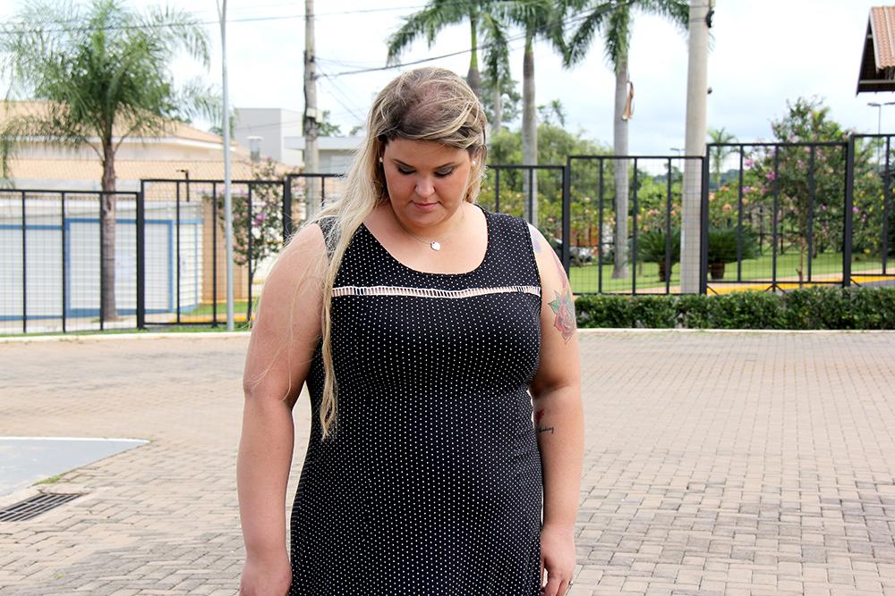 vestido plus size chic e elegante 2 - grandes mulheres