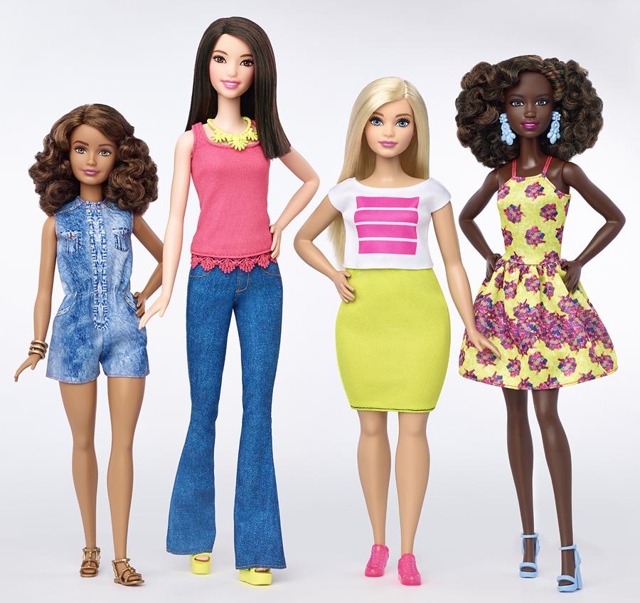 Barbie Fashionistas 2016 - Barbie Curvilínea