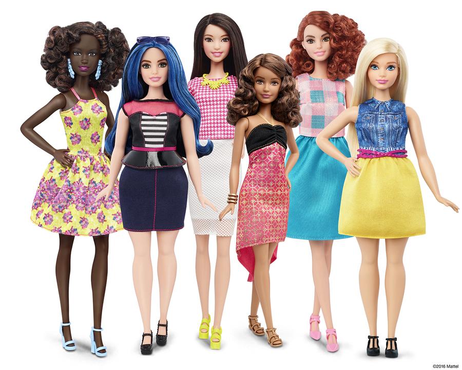 Lookbook Barbie Fashionitas 2016 - Barbie curvilínea