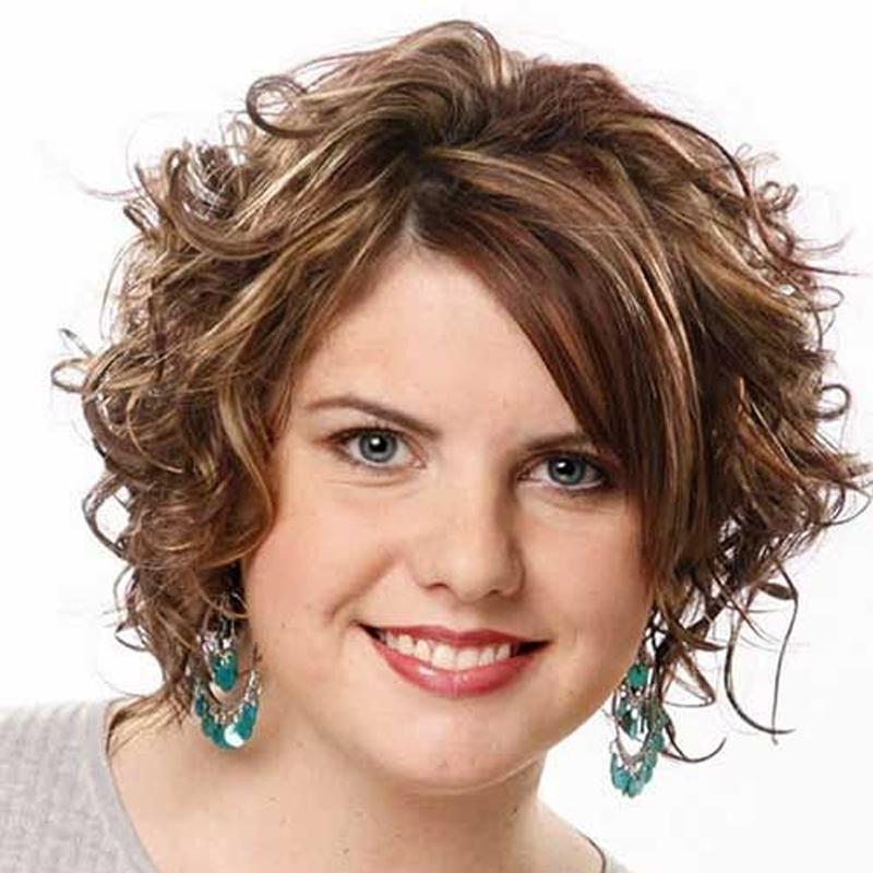 Cortes de cabelo para rosto redondo em 2016