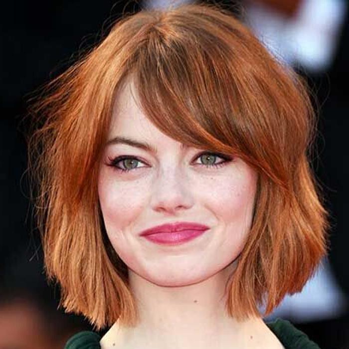 cortes de cabelo para rosto redondo 9 - grandes mulheres