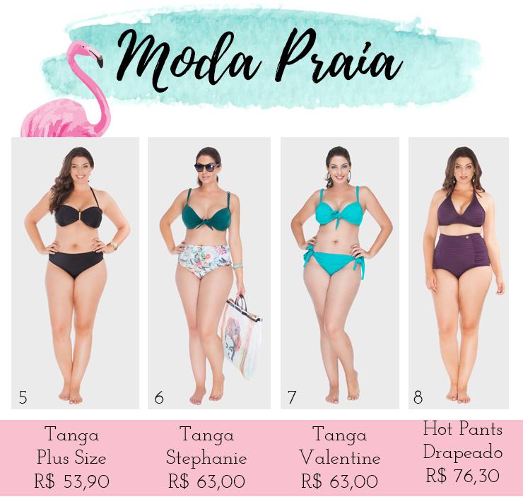 moda praia plus size - xepa flaminga