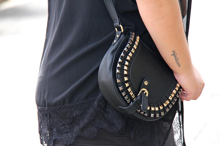 Look plus size - preto com suede 3 - grandes mulheres - paula bastos