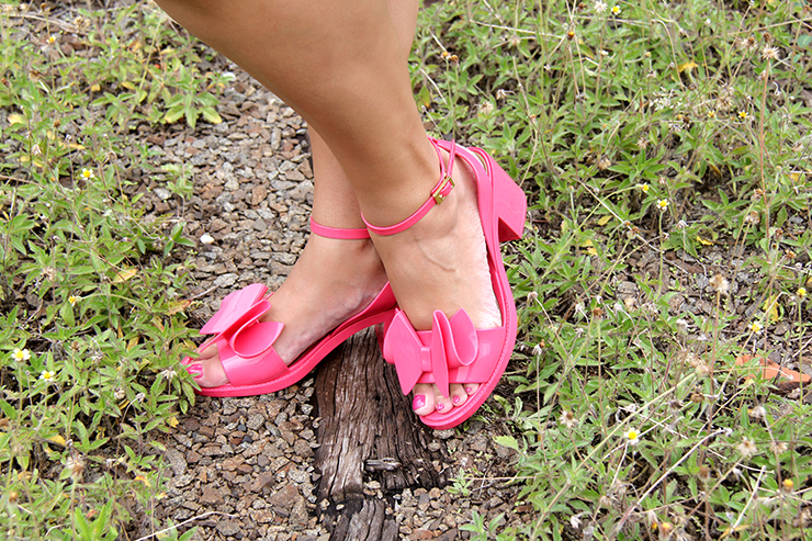 look romântico com sandália rosa 10 - grandes mulheres