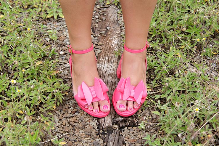 look romântico com sandália rosa 9 - grandes mulheres
