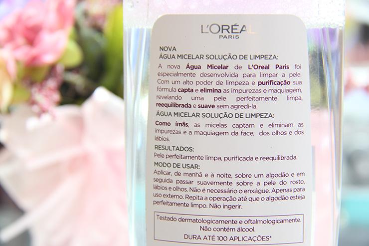 resenha água micelar loreal 4 - grandes mulheres