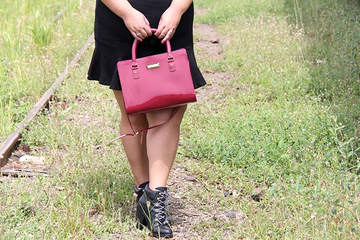 Moda plus size - saia de babado e cropped - grandes mulheres 5