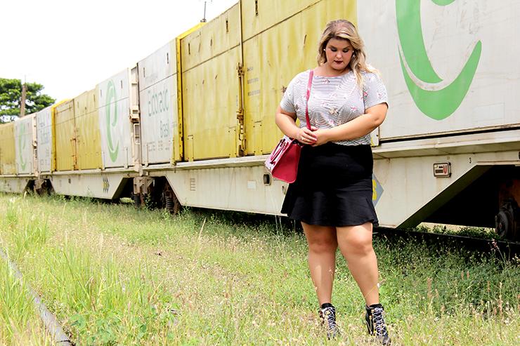 Moda plus size - saia de babado e cropped - grandes mulheres 7