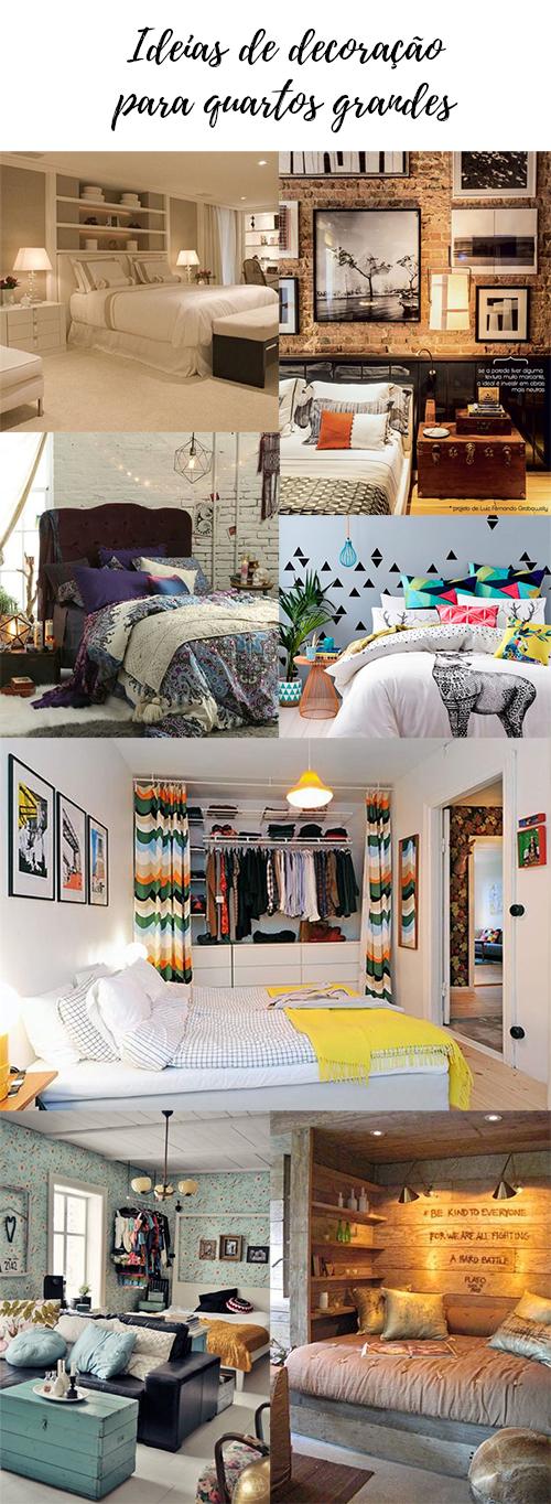ideias de decoração para quartos grandes - grandes mulheres