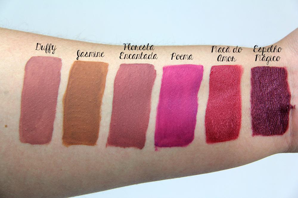 Novos batons líquidos Pausa para Feminices - maquiagem 3 - blog grandes mulheres