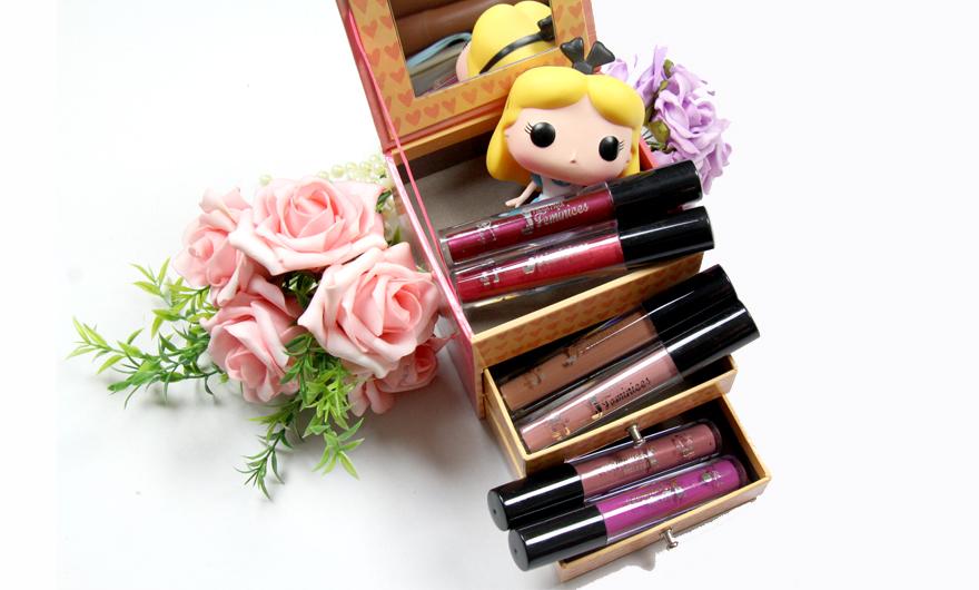 Novos batons líquidos Pausa para Feminices - maquiagem 4 - blog grandes mulheres