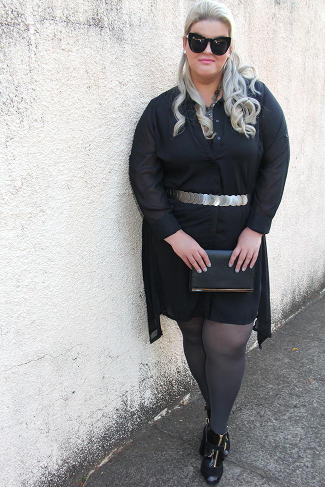 vestido preto transparente plus size 11 - moda plus size - julia plus - grandes mulheres