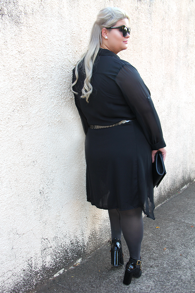 vestido preto transparente plus size 6 - moda plus size - julia plus - grandes mulheres