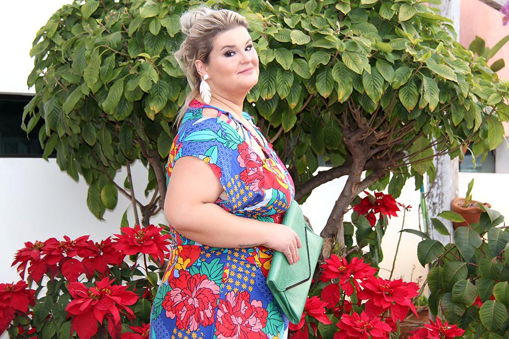 Vestido estampado plus size - Predilects - look plus size - moda plus size - grandes mulheres 7