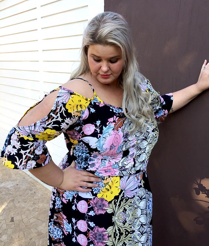 Vestido longo plus size - Chiceelegante - grandes mulheres - moda plus size 1