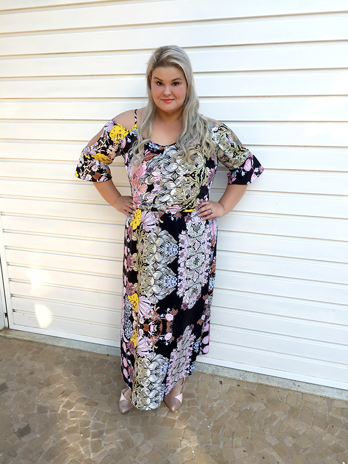 Vestido longo plus size - Chiceelegante - grandes mulheres - moda plus size 2