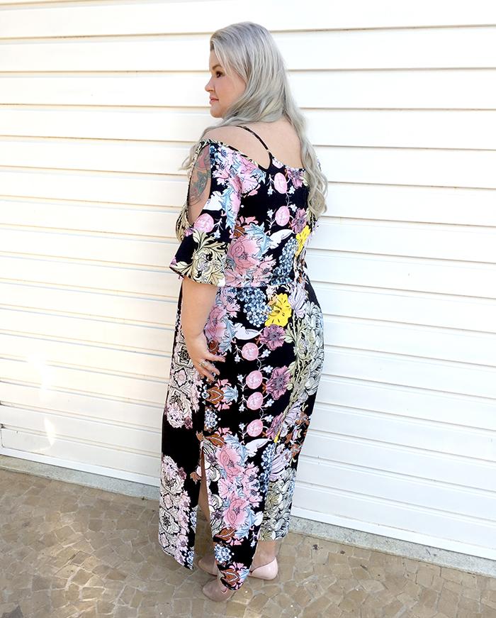 Vestido longo plus size - Chiceelegante - grandes mulheres - moda plus size 5